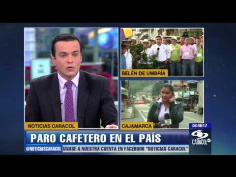 Por paro cafetero refuerzan seguridad en cuatro departamentos del pa ís