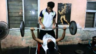 Bench Press At Power House Gym