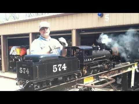 How To Fire A Live Steam Locomotive