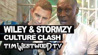Stormzy & Wiley talk film, album, book releases - Westwood