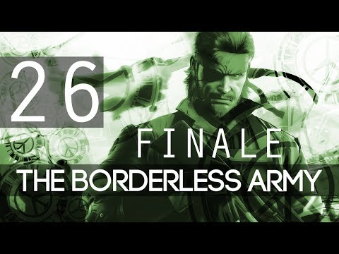 [FINALE | 26] The Borderless Army (Let's Play Metal Gear Solid: Peace Walker HD w/ GaLm)
