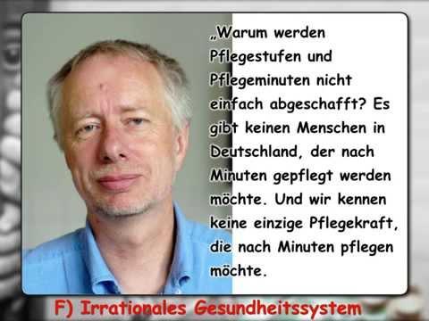 Sauereien In Regensburg - Pflege: F) Irrationales Gesundheitssystem