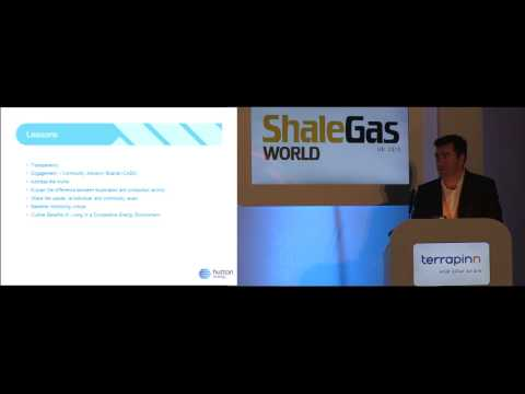 Lessons from international operators - Hutton Energy - Shale Gas World UK 2013