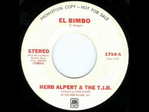 Herb Alpert And The T J B El Bimbo 1975 Youtube
