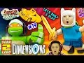 ADVENTURE TIME w/ NINJA TURTLES! Land of Ooo Level (Let's Bui...