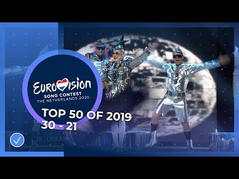 TOP 50: Most watched in 2019: 30 TO 21 - Eurovision Song Contest