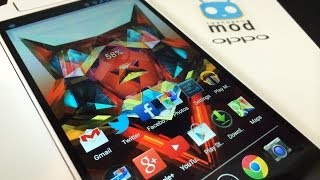 Oppo N1 Cyanogen Mod LIMITED Edition Unboxing, Feature Walkthrough and First Impressions
