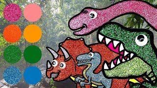 Dinosaurs for kids, Dinosaurs Learn Name and Sounds | Tyrannosaurus, Raptor, Triceratops