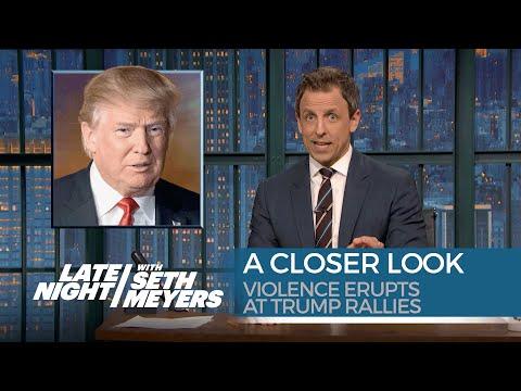 Violence Erupts at Trump Rallies: A Closer Look
