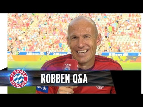 Arjen Robben answers fan questions