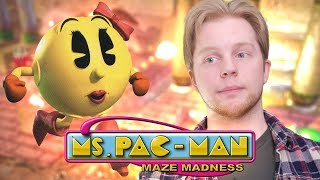 Ms. Pac Man: Maze Madness - Nitro Rad