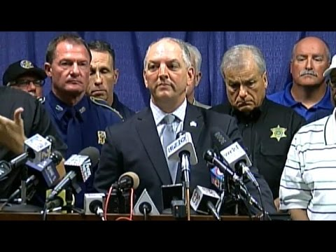 Officials hold briefing on Baton Rouge shooting