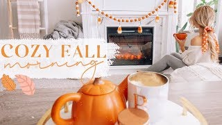 FALL MORNING ROUTINE! 🍂✨