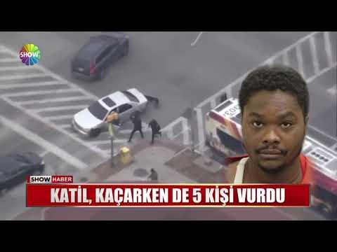 Katil, kaçarken de 5 kişi vurdu