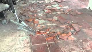 schimmel vloer verwijderen