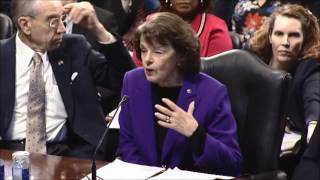 Feinstein opening remarks on Sessions nomination