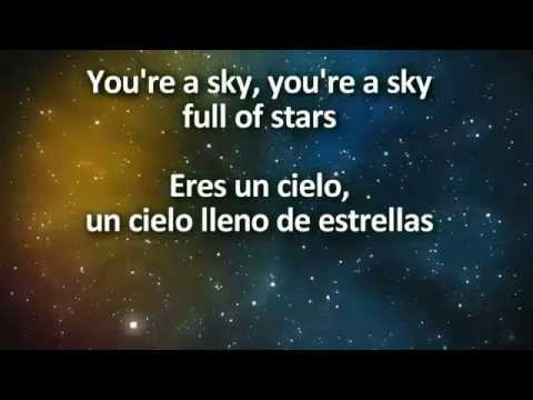 Coldplay - A Sky Full Of Stars - Un Cielo Lleno De Estrellas (Lyrics/Letras)