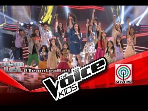 The Voice Kids Philippines Battle Team Lea sing