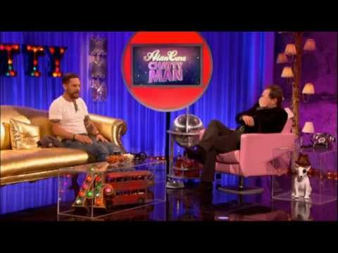 Tom Hardy on Chatty Man, 2015