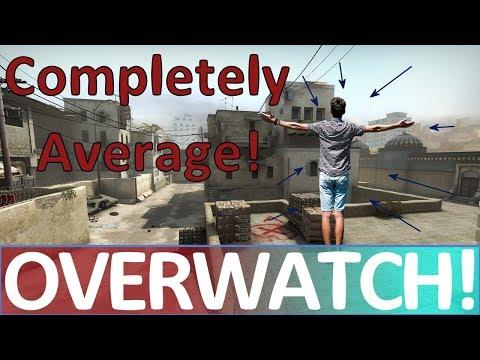 Completely Average! CS:GO OVERWATCH!