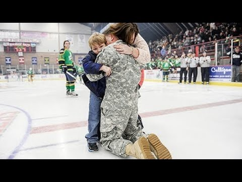 Soldiers Coming Home Surprise Compilation 2014 - 38