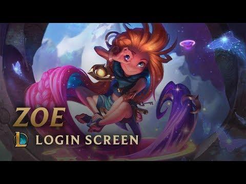 Zoe | Login Screen - League of Legends