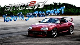 Need for Speed: Shift 2 Unleashed - TOYOTA SUPRA DRIFT - Logitech G25