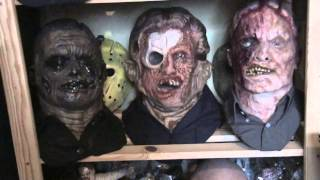bust jason voorhees Friday the 13 no masked with no mask collection