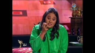 نجمة_العرب تمثيل المتسابقة هبة رحال لمشهد من الفيلم التاريخي الرسالة