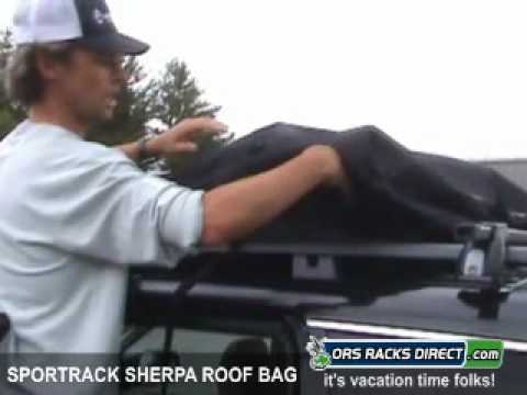 0 SportRack Sherpa 13 Cartop Luggage Roof Bag Review Video by ORS Racks Direct