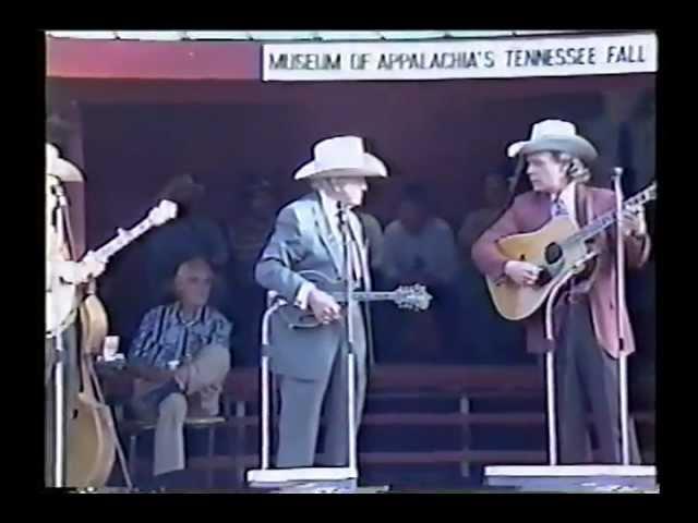 Bill Monroe & His Blue Grass Boys - Tennessee Fall Homecoming - October 1995 (Set 2)