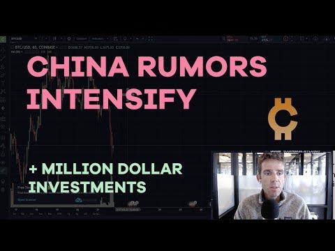 China Rumors Intensify, Bitcoin Drops, Exchange Analysis, CPU Mining, Invest 4 Cashflow - CMTV Ep52