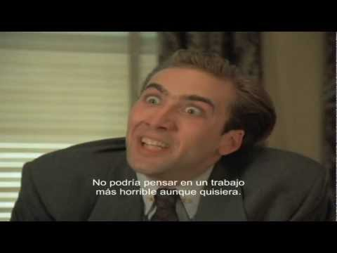 You dont say? Complete scene Nicolas Cage  Vampires Kiss