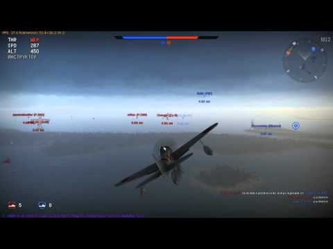 War Thunder | BLAH-BLAH | A6M2-N, он же поплавковый «Зеро». Who do you think we are?