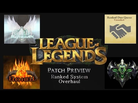 Patch Preview | Ranking System Overhaul | League of Legends