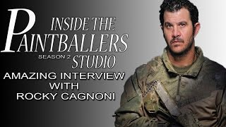 Inside the Paintballers Studio with Rocky Cagnoni