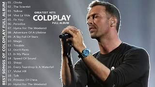 Coldplay Greatest Hits Full Album - Best Songs Of Coldplay [HQ]