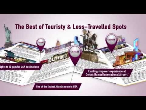 Your very own Qatar Airways USA Pocket Guide