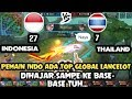 THAILAND TIDAK BAN LANCELOT!! INDONESIA LANGSUNG PESTA KILL - KONTES ARENA MOBILE LEGENDS