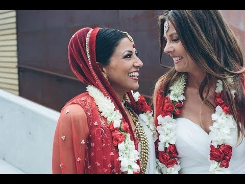 Shannon & Seema | Lesbian Indian Wedding Goes Viral video
