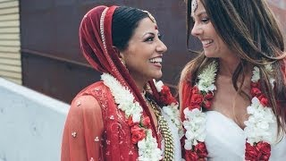 Shannon & Seema | Lesbian Indian Wedding goes Viral