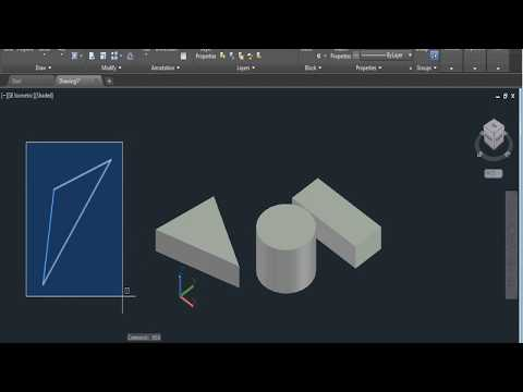 AutoCAD 2018 Tutorial for Beginners   #27  HOW TO CONVERT 2D OBJECT INTO 3D OBJECT IN AUTOCAD