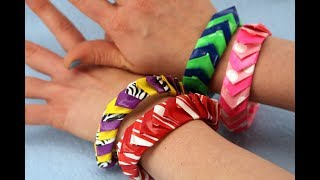 How to Make a Duct Tape Fishscale Bracelet - Another Way Back Wednesday | Sophie's World