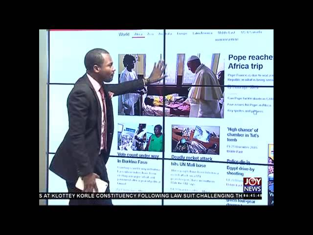 Newspaper Headlines - Joy News (30-11-15)