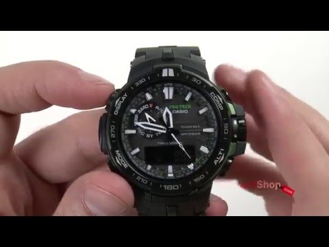 Casio Pro Trek PRW-6000Y-1 - review by DiscountShop.com