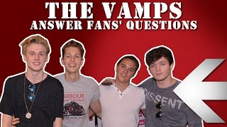 FAN Questions | The Vamps Band |  BOI
