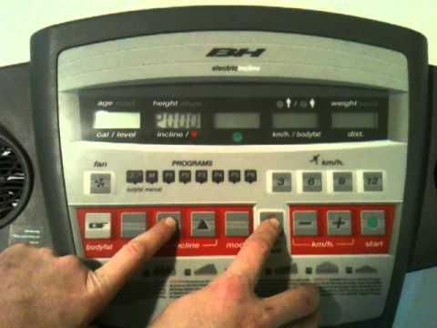 fit fix australia treadmill incline e7 error foult