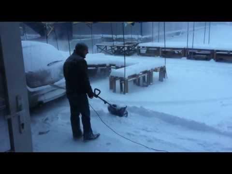 Снегоуборочная электрическая лопата Hyundai S 300 магазин