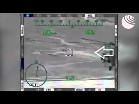 Ми-28Н уничтожают технику террористов в Сирии