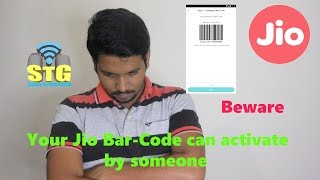 Hindi || your jio sim  Bar-Code can be hacked.